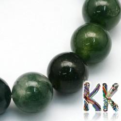 Mechový achát -  kulička - ∅ 8 mm