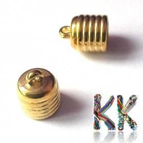 Koncovka vlepovací - zvonová - vnitřní ∅ 8 mm