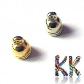 Koncovka vlepovací - zvonová - vnitřní ∅ 5 mm