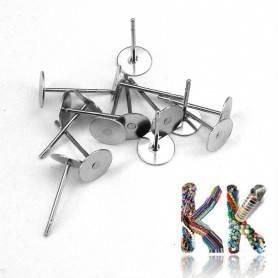 Puzeta z 304 nerezové ocele - ∅ 6 mm (1 pár)