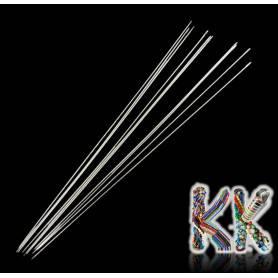 Korálkové jehly - extra dlouhé - 79 mm - síla 0,4 mm