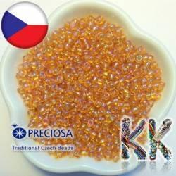 Rokajl Preciosa - průhledný duhový - 7/0 - ∅ 3,5 mm
