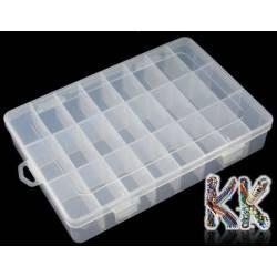 Box na korálky - 196 x 133 x 37 mm
