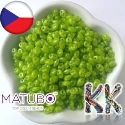 MATUBO™ SUPERDUO - průsvitné - 2,5 x 5 mm