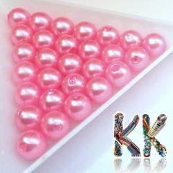 Akrylové perly - kuličky - ∅ 8 mm