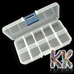 Box na korálky - 130 x 70 x 23 mm