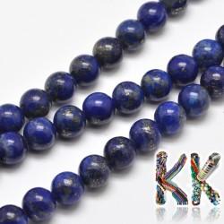 Přírodní lapis lazuli - kulička - ∅ 8 mm