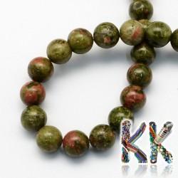 Unakitové korálky - kulička - ∅ 8,5 mm