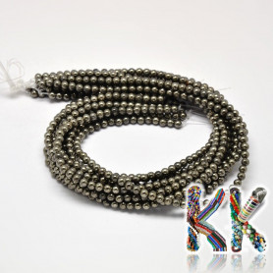 Pyritové korálky - kulička - ∅ 8 mm