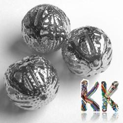 Filigránový korálek - kulička -∅ 16 mm