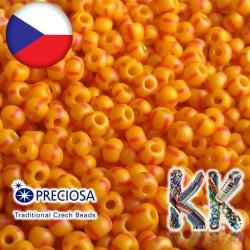Rokajl Preciosa - 7/0 - neprůhledný s proužky