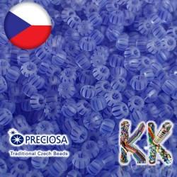 Rokajl Preciosa - 8/0 - průhledný matný s proužky