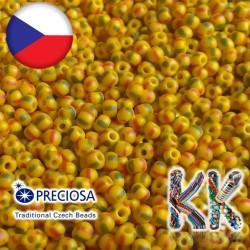 Rokajl Preciosa - 10/0 - neprůhledný s proužky
