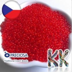 Rokajl Preciosa - 10/0 - průhledný