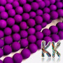 Matné kuličky - neonové, neprůhledné - ∅ 8 mm