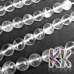 Přírodní křišťál - ∅ 8 mm - kulička