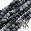 Barvený achát - kulička - ∅ 8 mm