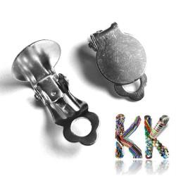 Náušnicová klipsna - průměr lůžka 10 mm - 1 pár