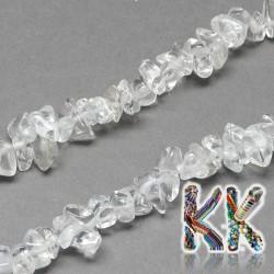 Přírodní křišťálové zlomky - 4-10 x 4-6 x 2-4 mm - váha 5 g (cca 8,5 cm)