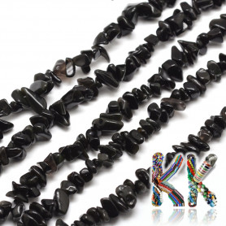 Přírodní vločkový obsidián - kulička - ∅ 8,5 mm