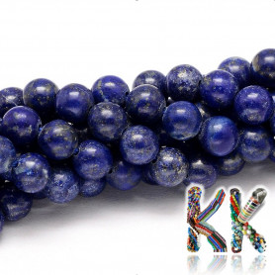 Přírodní lapis lazuli - kulička - ∅ 6 mm