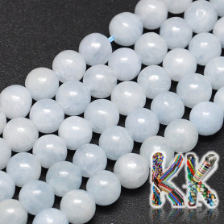Přírodní modrý kalcit - ∅ 8 mm - kuličky