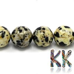 Přírodní dalmatinský jaspis - žlutý - ∅ 8 mm - kulička
