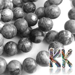 Přírodní krajinový jaspis - ∅ 8 mm - kulička