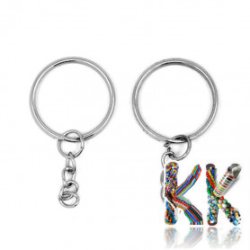 Železný kroužek na klíče - ∅ 25 mm