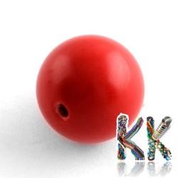Rumělka - ∅ 8 mm - kulička