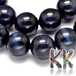 Přírodní modré tygří oko - ∅ 8 mm - kulička - kvalita A