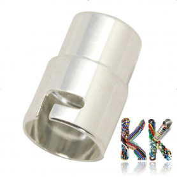 Magnetické vlepovací zapínání s pojistkou - ∅ 12 x 19 mm