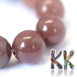 Přírodní fialový avanturín - ∅ 6 mm - kulička