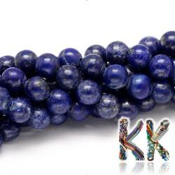 Přírodní lapis lazuli - ∅ 4 mm - kulička