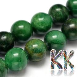 Přírodní africký nefrit - ∅ 6  mm - kulička