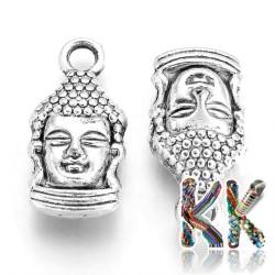 Přívěsek buddha - 16,5 x 8 x 5 mm