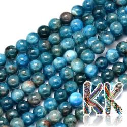 Přírodní apatit - ∅ 6 mm - kuličky