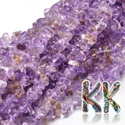 Přírodní ametrín- zlomky - 5-14 x 4-10 mm - 5 g