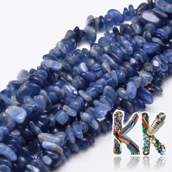 Přírodní kyanit - zlomky - 5-14 x 4-10 mm - 5 g