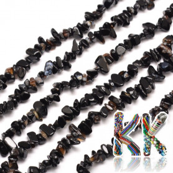 Přírodní onyx - zlomky - 5-8 mm - 5 g
