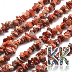 Přírodní brekciový jaspis - zlomky - 5-8 mm - 5 g