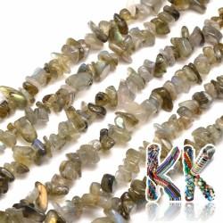 Přírodní labradorit - zlomky - 5-8 mm - 5 g
