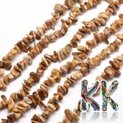 Přírodní obrázkový jaspis - zlomky - 5-8 mm - 5 g
