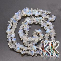 Syntetický opál - zlomky - 5-8 mm - 5 g