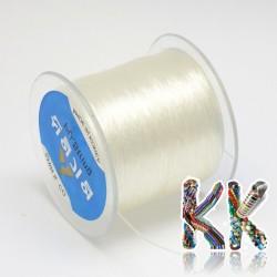 Polyesterové vlákno - čiré - ∅ 1 mm - návin 100 metrů