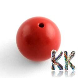 Rumělka - ∅ 6 mm - kulička