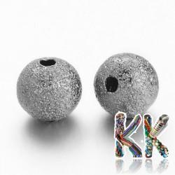 Kovové korálky s hvězdným prachem - ∅ 6 mm