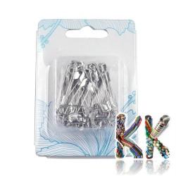 Zavírací špendlíky - 28 x 6 x 2 mm - box cca 50 ks