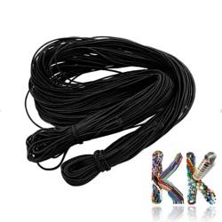 Nylonová elastická šňůrka - ∅ 1 mm - návin 20 m