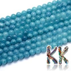 Přírodní modrý křemen - ∅ 10 mm - kulička